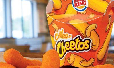 Burger King Mac n Cheetos