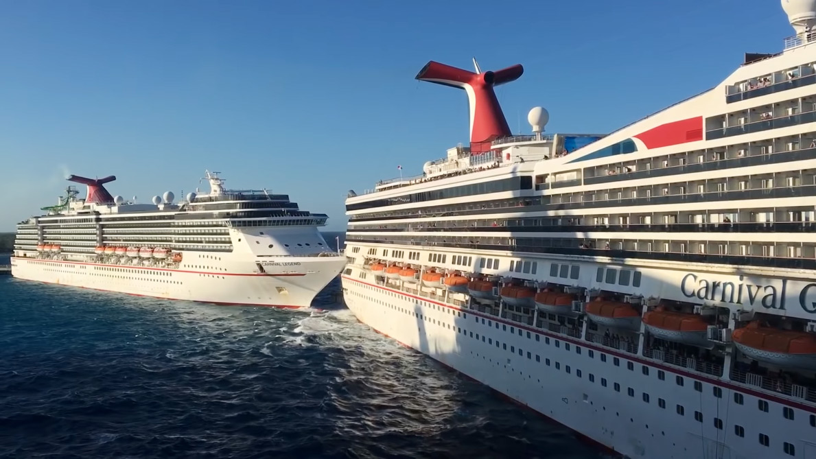 Watch As Two Carrnival Cruise Ships Crash Into One Another ...