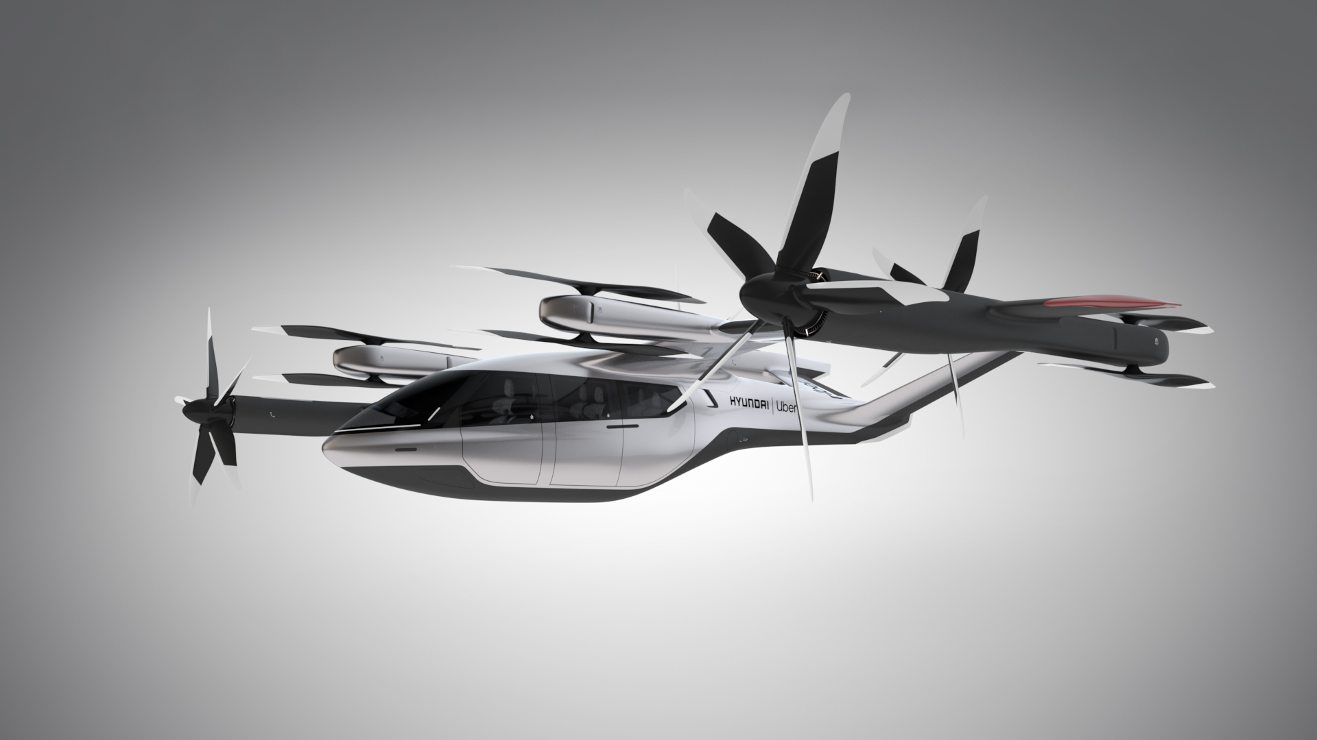 Uber Air / Hyundai S-A1 Air Taxi Concept