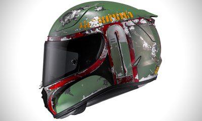 HJC Helmets RPHA 11 Pro Boba Fett motorcycle helmet