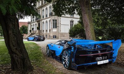 Bugatti Vision Gran Turismo and Chiron