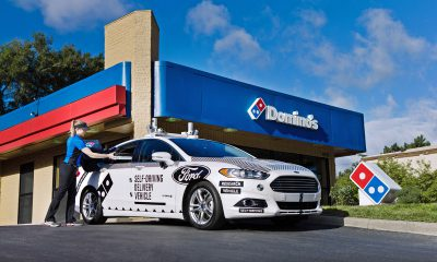 Ford and Domino's Testing Self-Driving Pizza Delivery Car