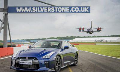 Nissan GT-R vs Nissan GT-R Drone
