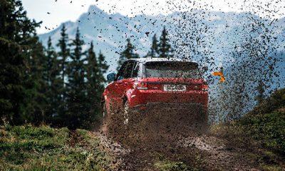 Range Rover Sport Downhill Alpine Ski Challenge
