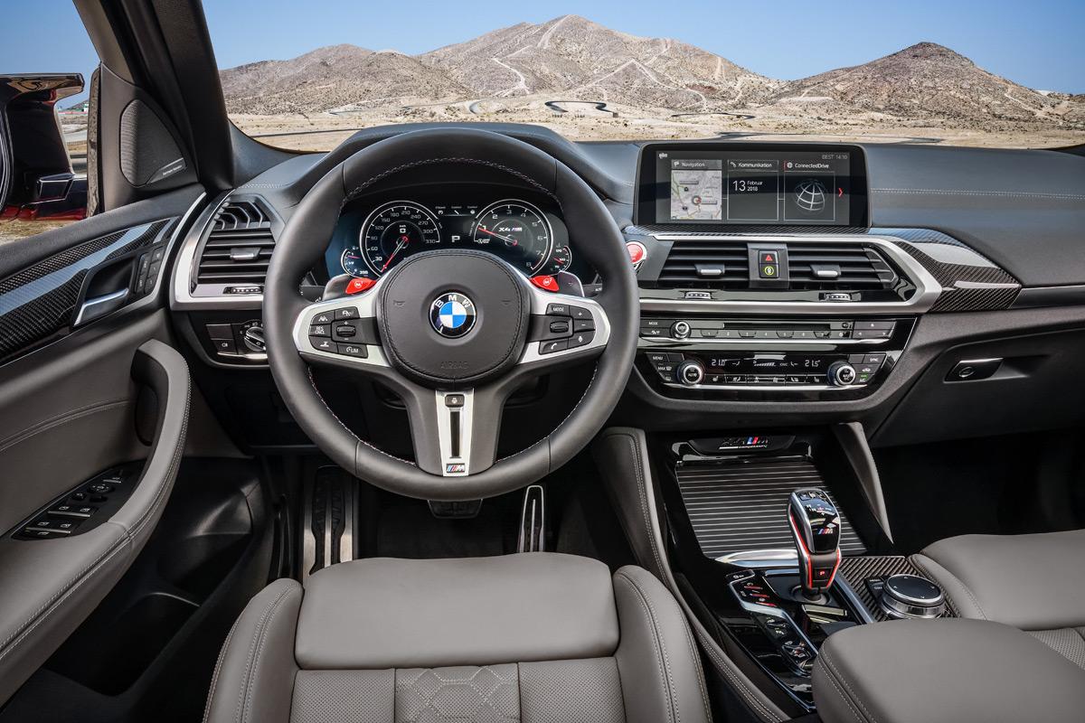 2020 BMW X4 M Interior