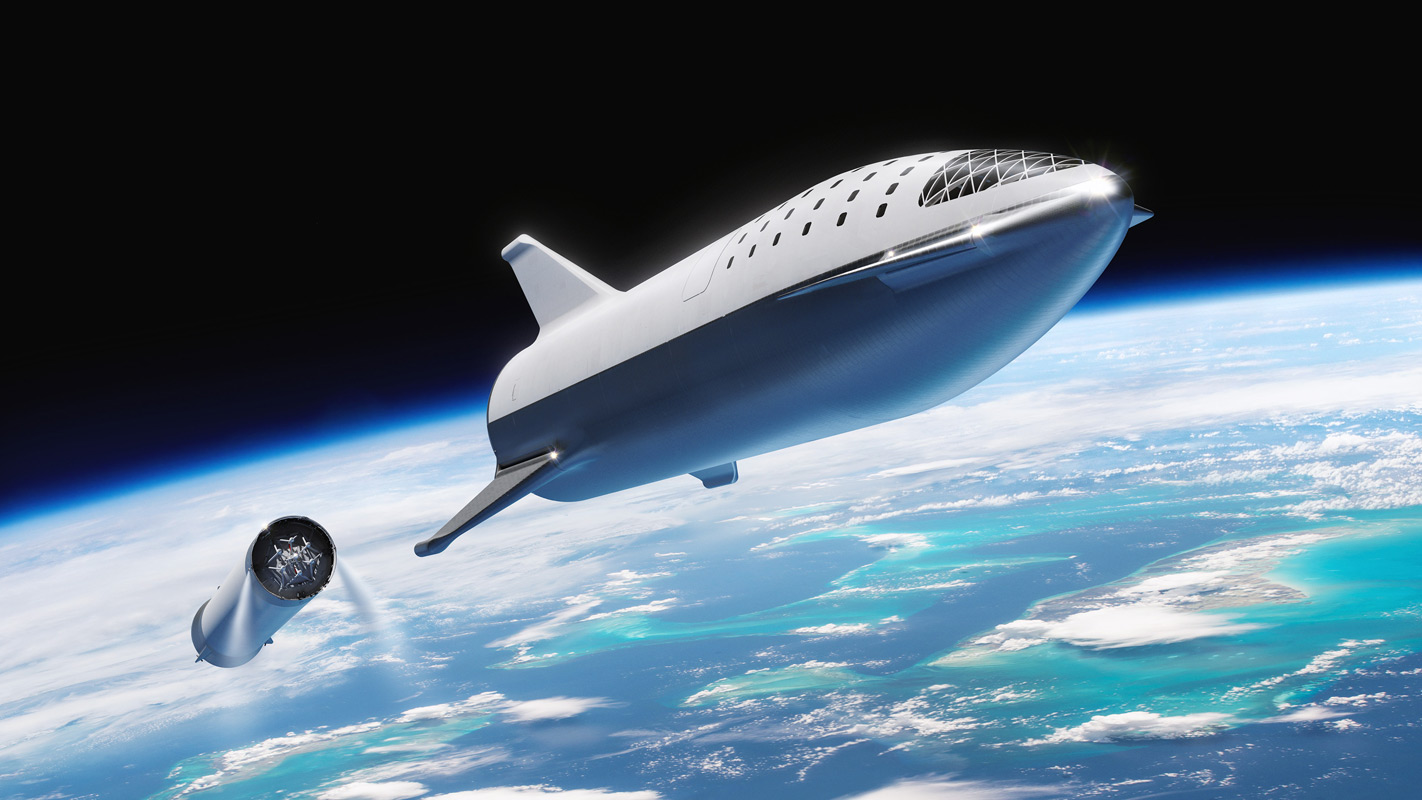 BFR Stage Separation