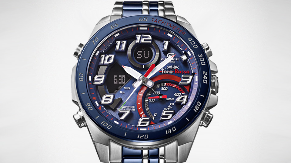 CASIO EDIFICE Scuderia Toro Rosso Collection