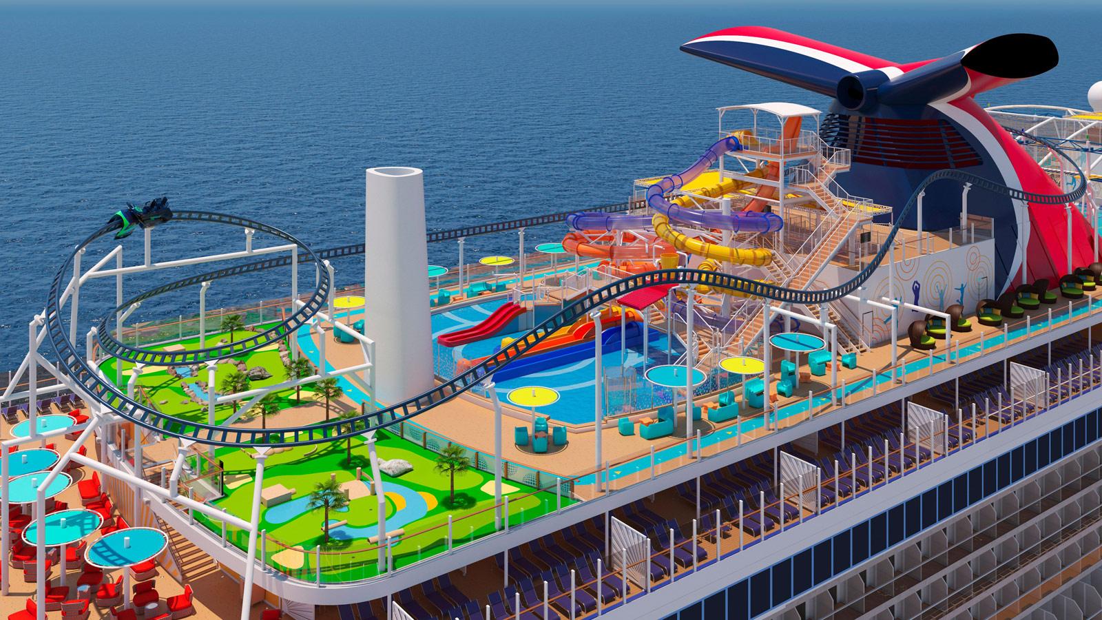 Carnival Mardi Gras - BOLT Sea Coaster