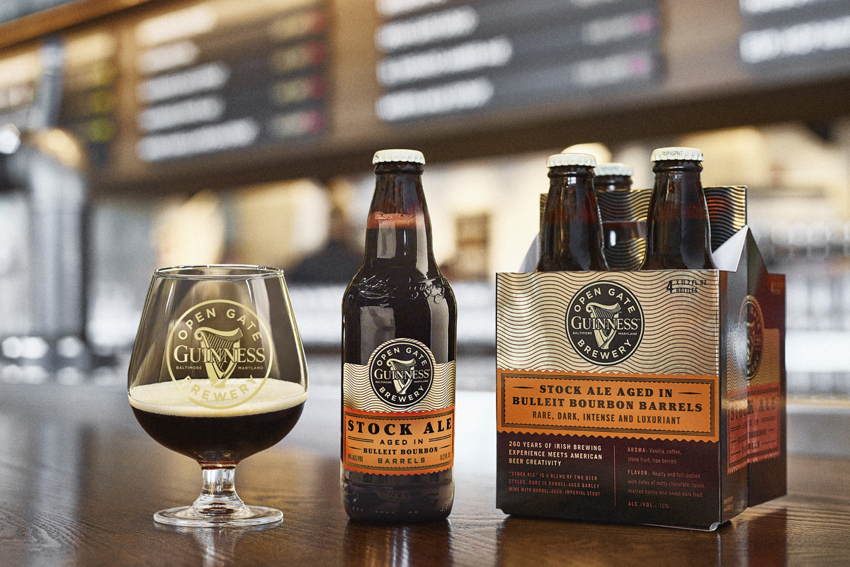 Guinness Stock Ale Aged in Bulleit Bourbon Barrels