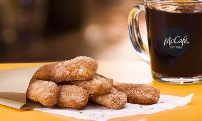 McDonald's McCafe Donut Sticks