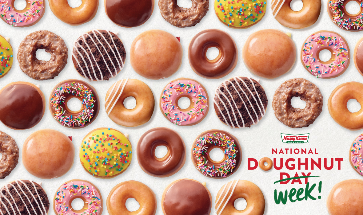 Krispy Kreme - National Doughnut Week