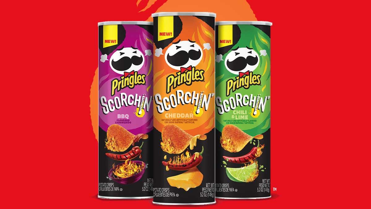 Pringles Scorchin' Lineup