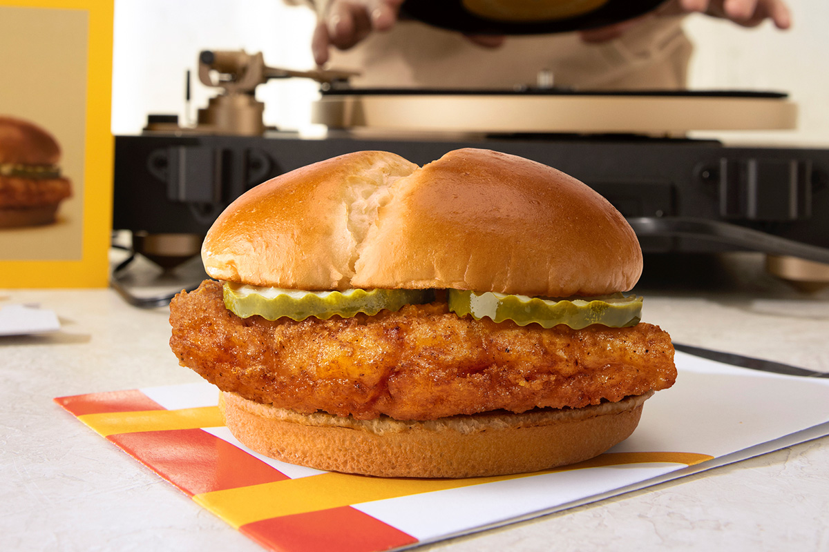 McDonald's Crispy Chicken Sandwich