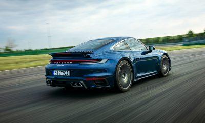 2021 Porsche 911 Turbo - Rear Quarter